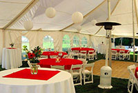 Rhumb Line Resort Tent Wedding