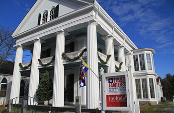 First Family Exhibit White Columns