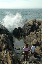 Ocean Ave Blow Hole Kennebunkport Maine