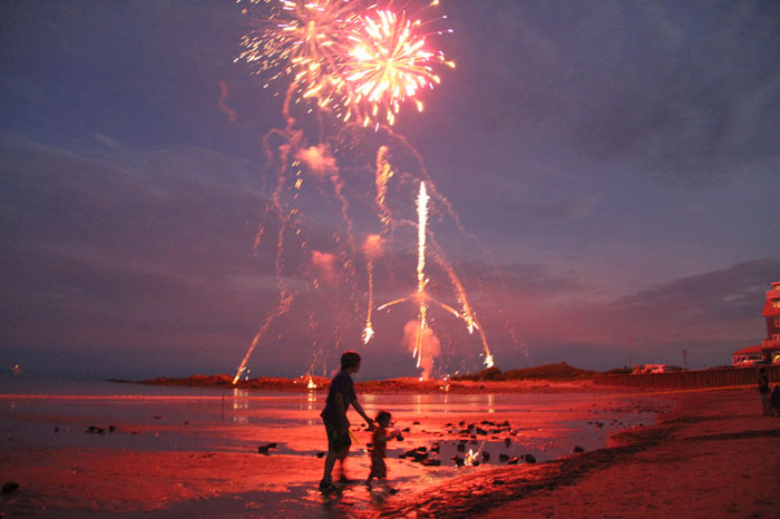 july 4th fireworks gulf shores alabama