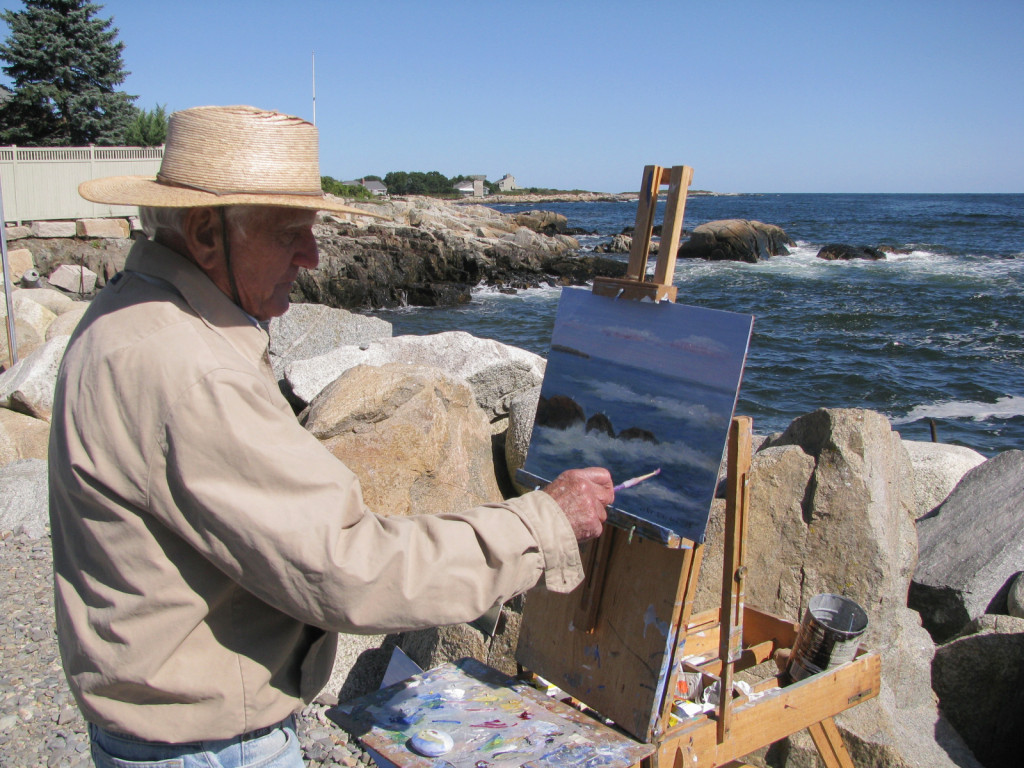 Kennebunk Beach Painter
