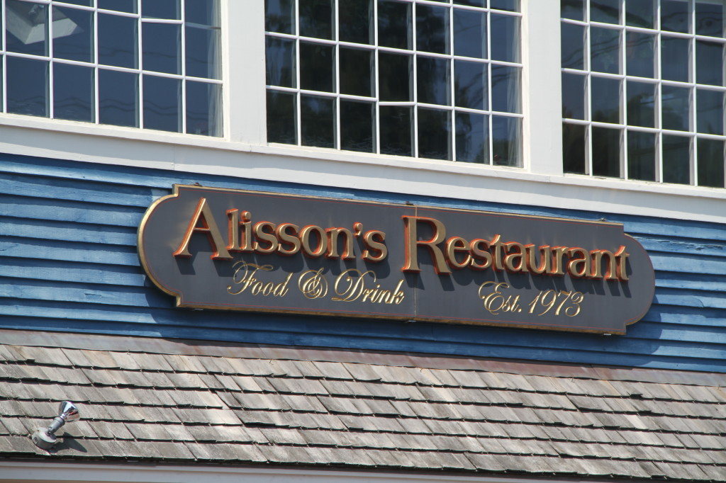 Alisson's Restaurant in Dock Square Downtown Kennebunkport