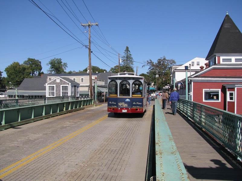 In town trolley