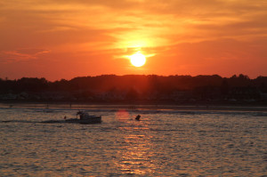 Kennebunkport Maine sunset