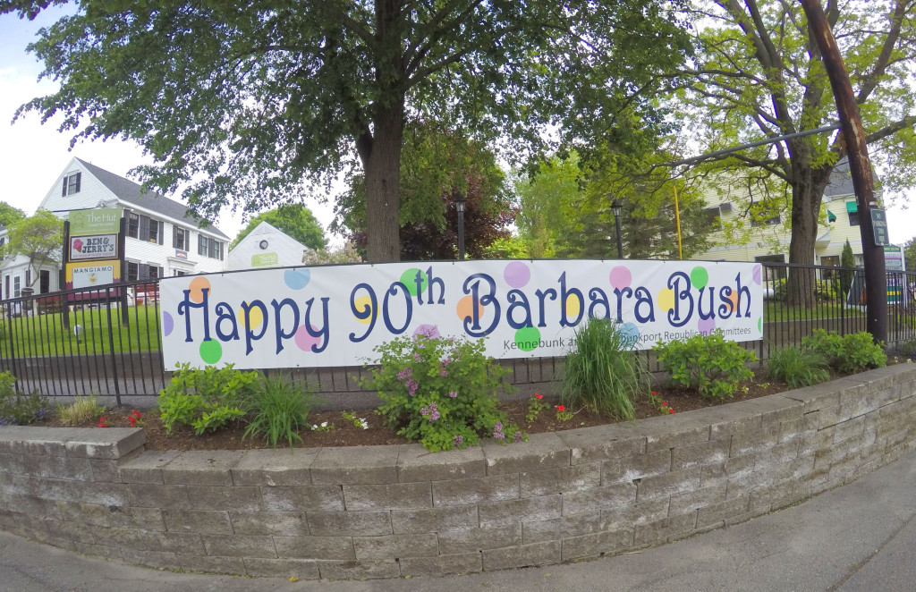 Happy 90th Birthday Barbara Bush