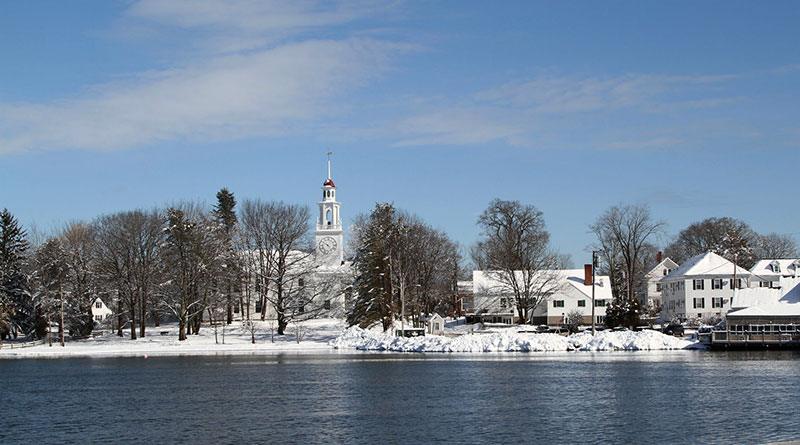 Winter in Kennebunk and Kennebunkport Maine