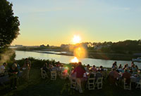 lobster-steamers-bake-river-sunset