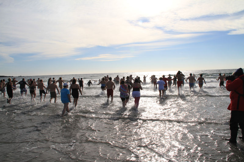 Polar Plunge - Kennebunk Maine January 1st | Kennebunkport Maine Hotel and Lodging Guide