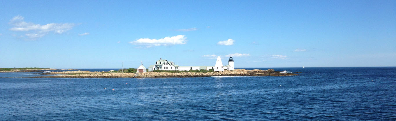 The Goose Rocks Island Lighthouse