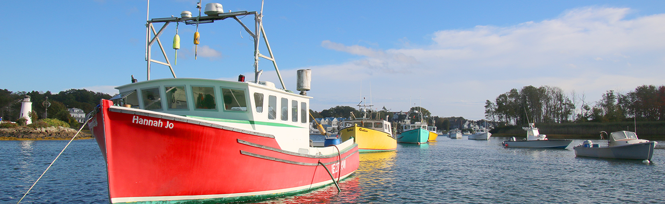lobster-boats-on-river