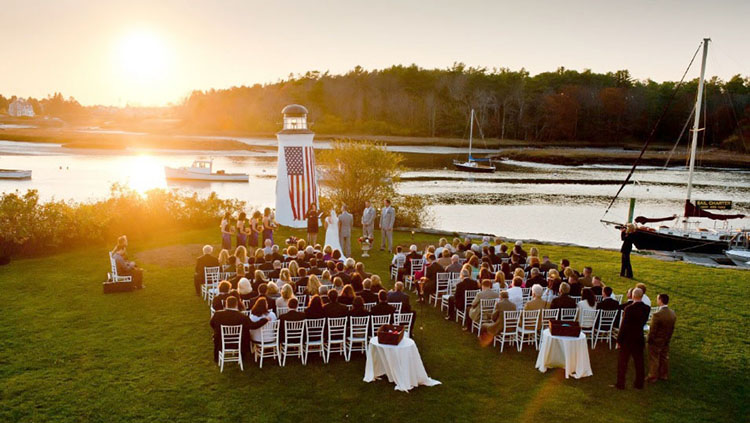 Weddings and Wedding Receptions Kennebunkport Maine