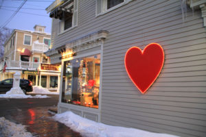 Paint the Town Red with Romance in Kennebunkport